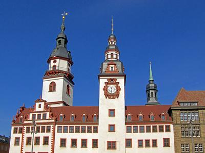 Altes Rathaus Chemnitz Marktplatz Wahrzeichen