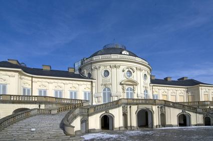 Schloss Solitude Stuttgart Sehenswürdigkeit Wahrzeichen