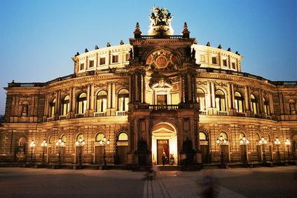 Semperoper Dresden Staatsoper Sachsen Nacht
